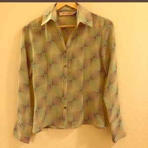 See by Chloe retro button down
